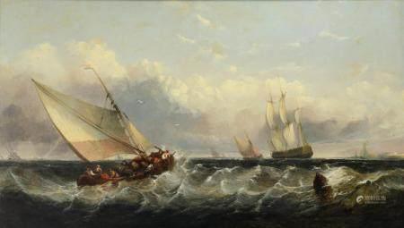 After François Musin (1820-1888), 67 x 113 cm