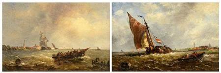 Albert Jurardus Van Prooijen (1834-1898), 17 x 25,5 cm