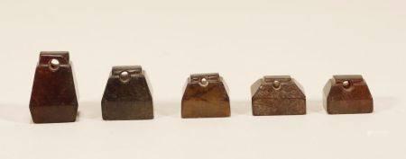 Han Dynasty - Set of Jade Seals