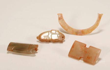 Han Dynasty - Set of Jade Pendants