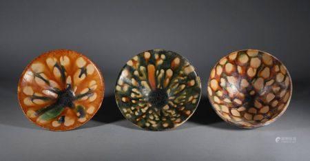 Tang Dynasty - Set of Sancai Bowl