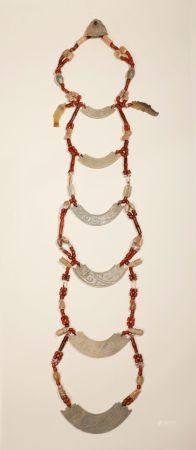 Western Zhou - Set of Jade Pendant