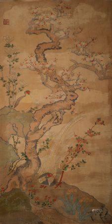 Qing Dynasty - Kesi Flower and Bird