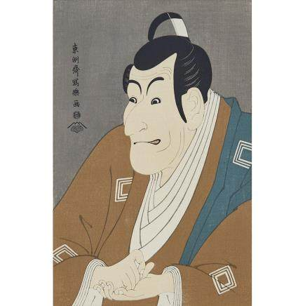 TOSHUSAI SHARAKU (ACTIVE 1794–1795) UTAMARO KITAGAWA (1712-1788) GROUP OF TWELVE WOODBLOCK PRINTS 東洲斎写楽 喜多川歌麿