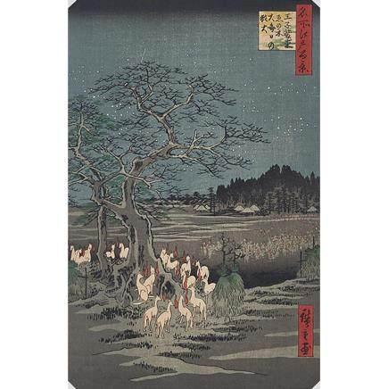 UTAGAWA HIROSHIGE (1797-1858) THREE WOODBLOCK PRINTS 歌川廣重