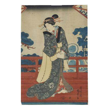 UTAGAWA KUNISADA (TOYOKUNI III, 1786-1865) 歌川國貞