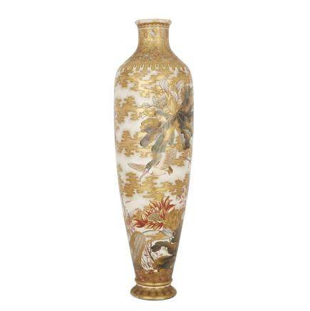 A MASSIVE SATSUMA VASE, EARLY 20TH CENTURY 二十世紀早期 薩摩燒大瓶