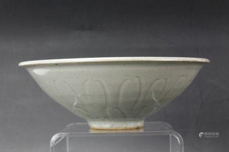 A Song Qingbai Style Glazed Yingqing Porcelain Bowl
