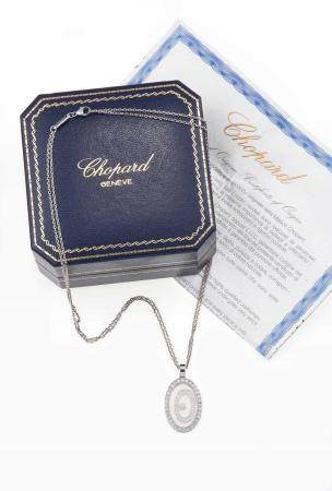 "Chopard. ""Happy Spirit"" pendente con diamanti,"