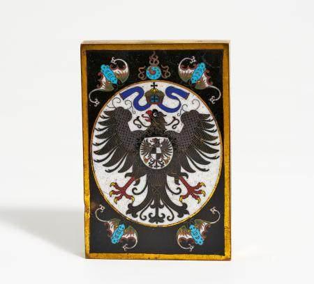 Papiergewicht mit dem Wappen des Deutschen Reiches