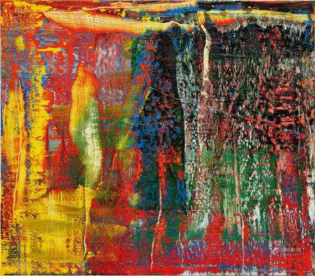 格哈特·里希特 2015年作 抽象画940-7号 油彩 画布