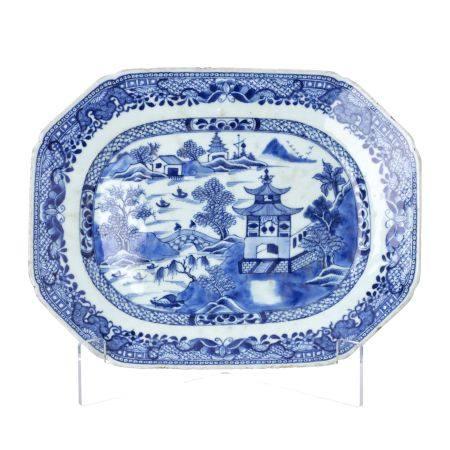 China porcelain platter, Qianlong
