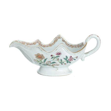 Porcelain saucer in chinese porcelain, India Company