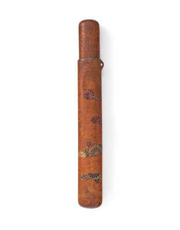 After SHIBATA ZESHIN (1807-1891) A lacquered-wood kiseruzutsu (pipe case)Meiji era (1868-1912), late 19th century
