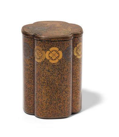 A lacquer kogo (incense container) Edo period (1615-1868), 18th/19th century