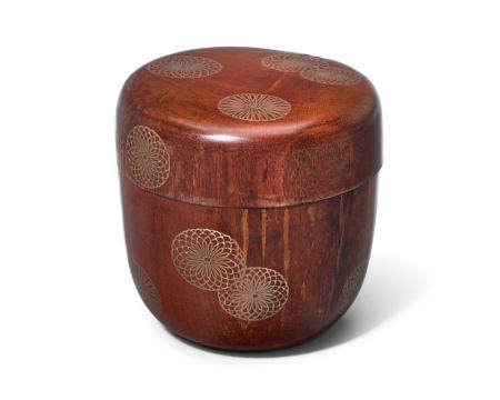 Sotetsu (active 20th century) A lacquered wood natsume (tea caddy)Showa era (1926-1989), 20th century