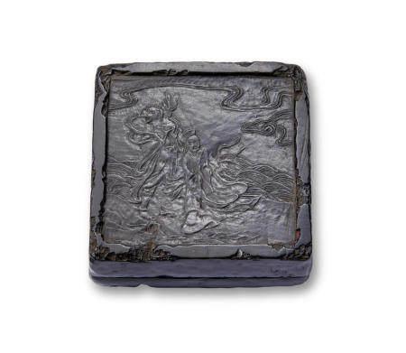Masayuki (active 19th century) A lacquer kogo (incense container)Edo period (1615-1868), 19th century