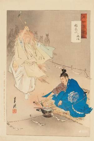 Tsukioka Kôgyo (1869-1927) and others