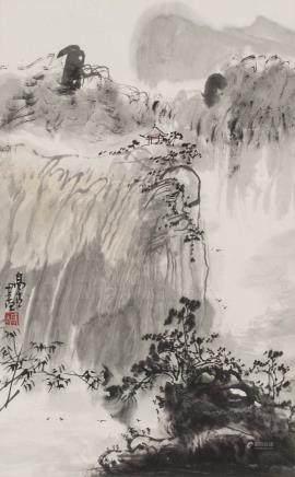 杨正新山水 高古印