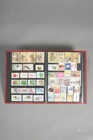 各式郵票 一冊