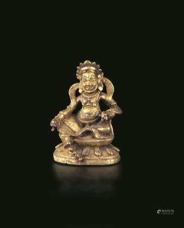 A bronze Sita-Yambala, Tibet, 1700s