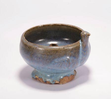 Yuan Dynasty - Jun Ware Lamp Holder