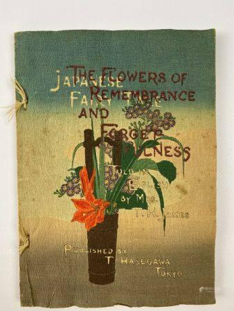 T. Hasegawa The flowers of remembrance and forgetfulness  Livret sur crépon de contes japonais