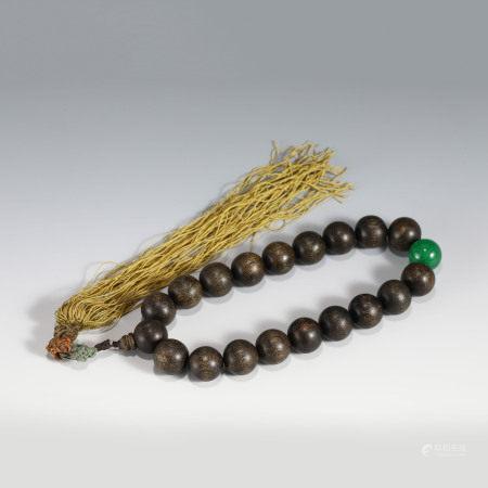 Qing Dynasty FRAGRANCE AGARWOOD PRAYER BRACELET