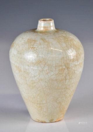 清 青瓷小梅瓶