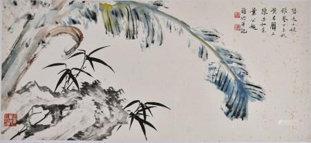 黃君壁(1898-1991) 陳子和 (1910-1984) 葉公超(1904-1981) 花鳥