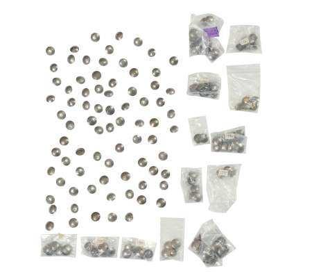 170 Native American Buffalo Nickel Buttons