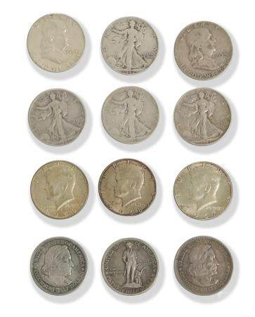 11 Half Dollars, 1925 Lexington, 1893 Columbian