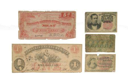 5, US Civil War & Fractional Currency