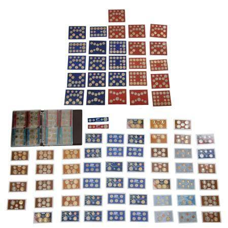 58 US Mint Proof & UNC. Sets 1968 - 2018