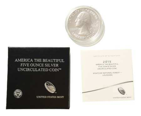 US Mint America The Beautiful 5 Ounce Silver Coin