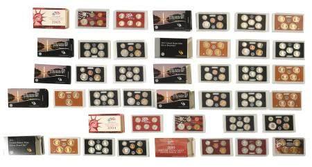 12 US Mint Silver Proof Sets 2004 - 2018