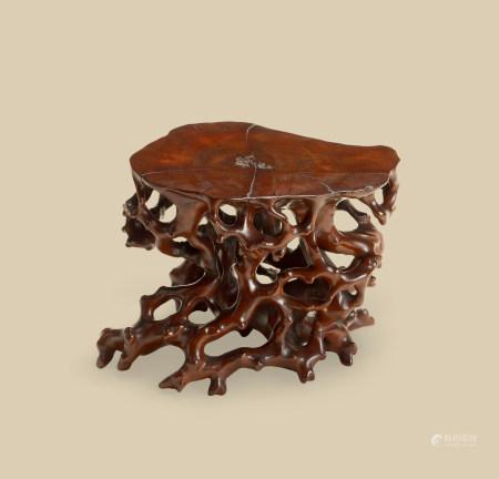 随形根木台