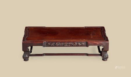 清代(1644~1911) 红木灵芝纹长方桌