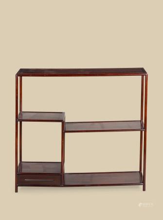 清代(1644~1911) 红木博古架