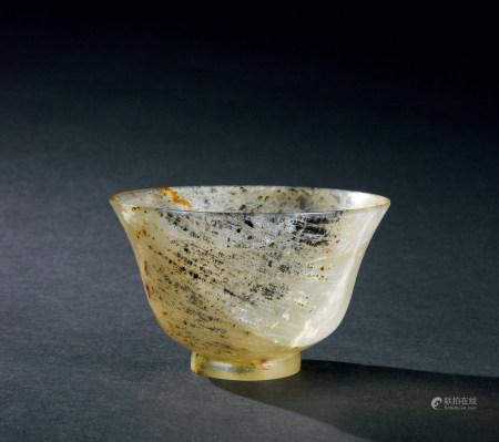 清代(1644~1911) 玛瑙杯