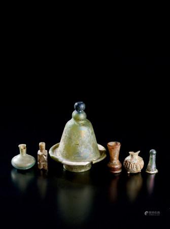 各式古罗马料器等 (六件一组)