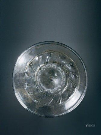 唐代(618~907) 料器圆盘