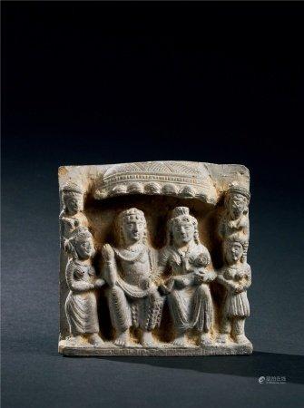 3-4世纪 犍陀罗佛像