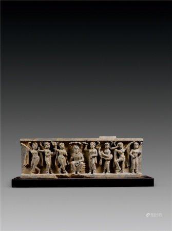 3-4世纪 犍陀罗石雕佛像