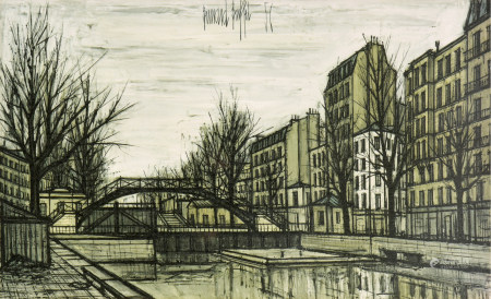 贝尔纳·布菲(1928-1999)  风景 版画