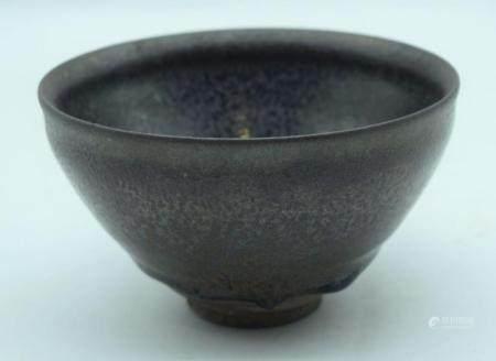 A Chinese Jiang ware bowl 13 x 7.5cm.
