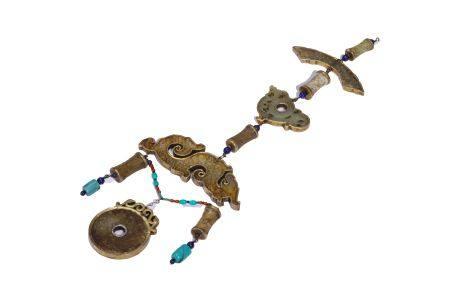 Gold-clad Jade Ornaments