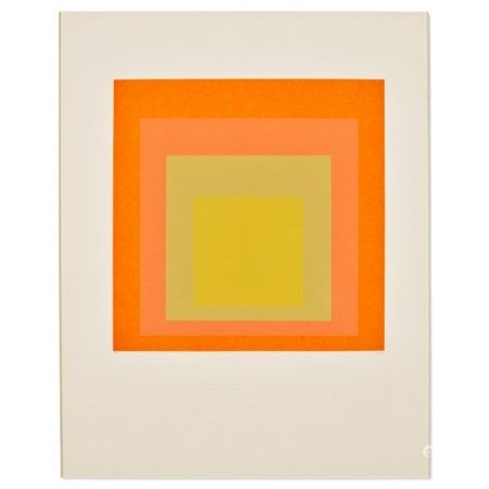 JOSEF ALBERS (1888-1976) Hommage au Carré (Homage to the Square): one print