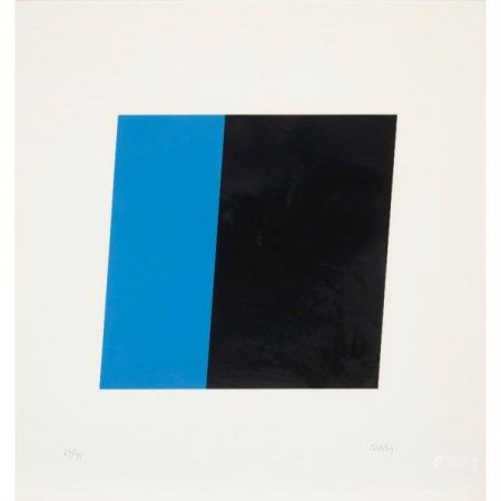 ELLSWORTH KELLY (1923-2015) Blue Black