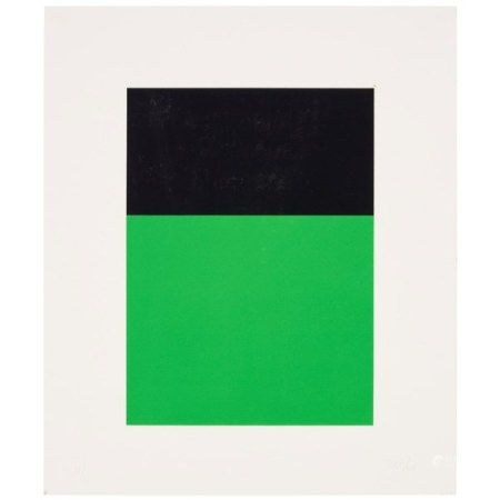 ELLSWORTH KELLY (1923-2015) Black Green